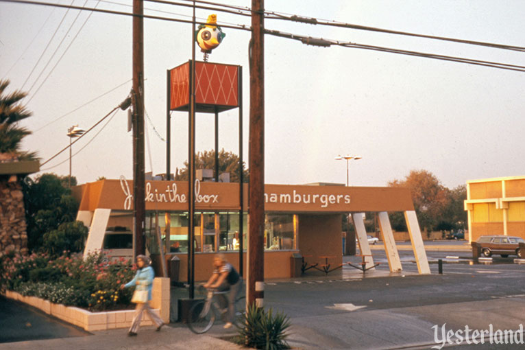Jack in the Box restaurant on Lincoln Avenue in Anaheim, 1974