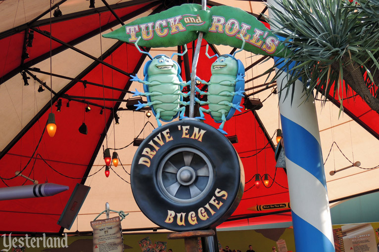 Tuck and Roll's Drive 'Em Buggies at Disney California Adventure