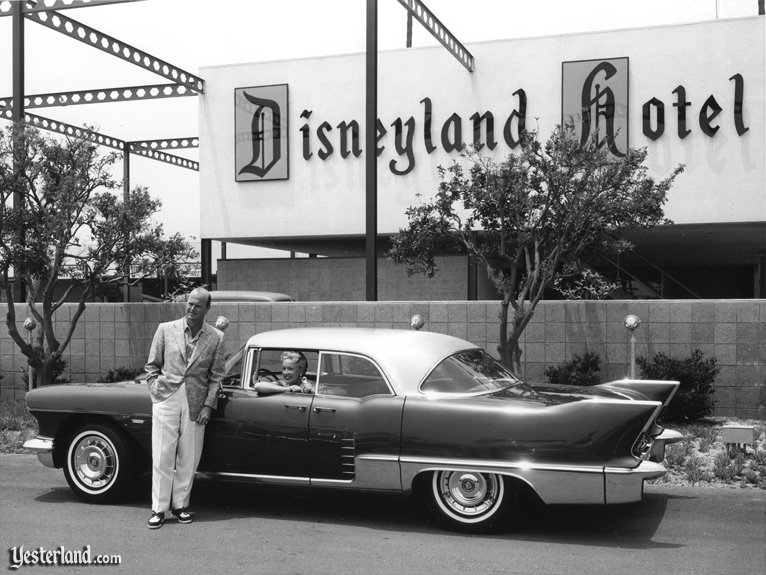Disneyland Hotel in the 1950s