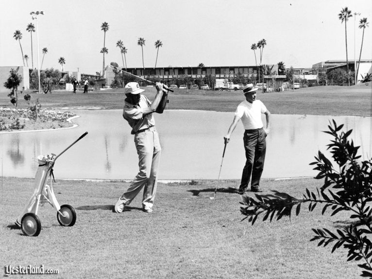 Disneyland Hotel Golf at Yesterland