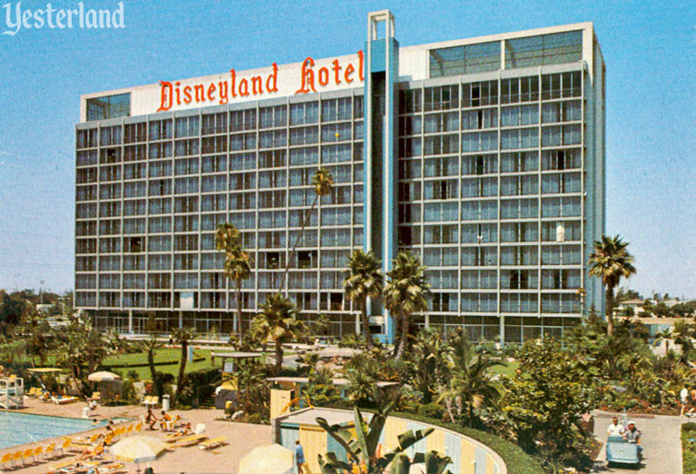Looking Glass Elevator at the Disneyland Hotel