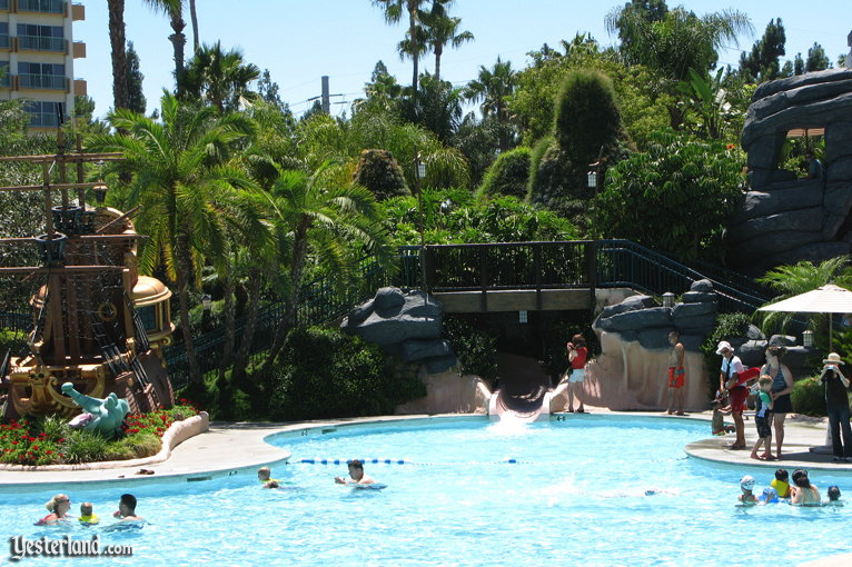 Never Land Pool at Disneyland Hotel, Disneyland Resort
