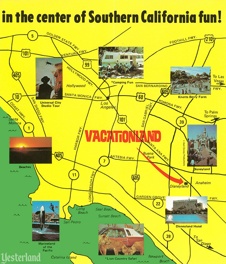 Vacationland RV Park across the street from Disneyland