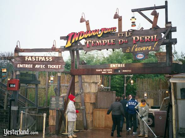 Indiana Jones and the Temple of Peril at Disneyland Paris