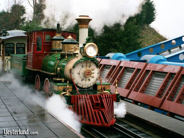 Euro Disneyland Railroad