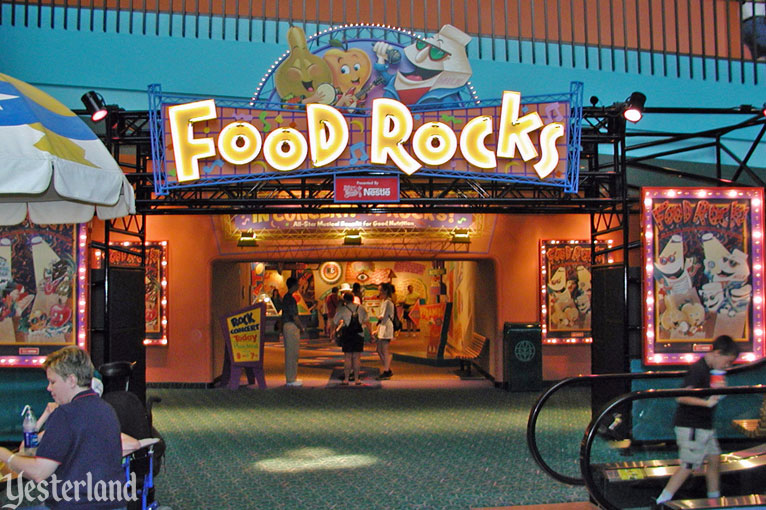 Food Rocks at Epcot