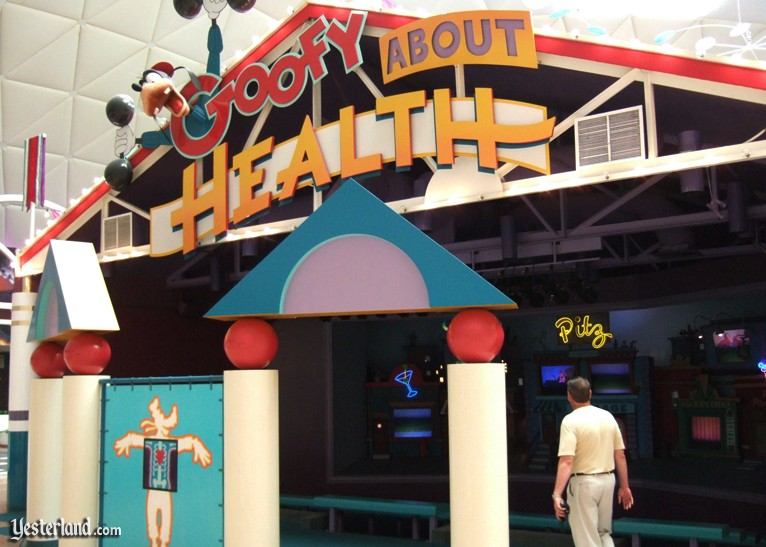 Goofy About Health at Epcot