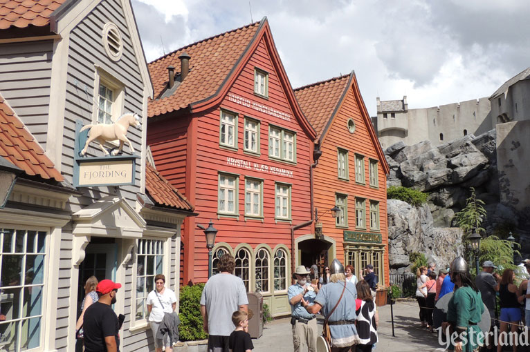 Comparing real Norway to Epcot's Norway