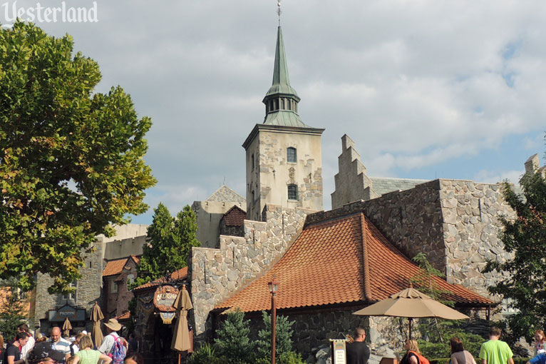 Norway at Epcot's World Showcase, Before and After Frozen