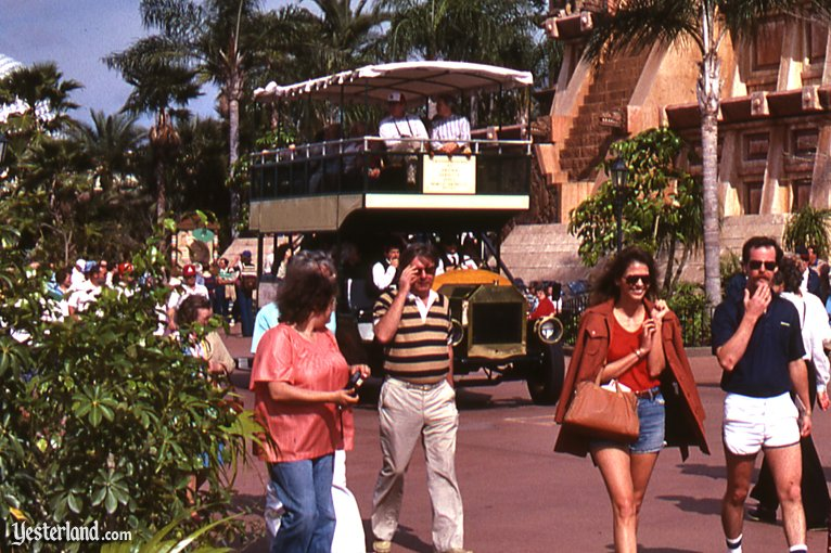 Double-Decker Bus at Epcot Center