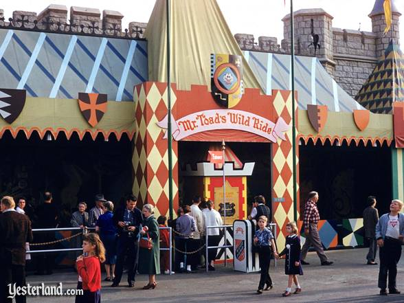 The Original Mr Toad S Wild Ride At Yesterland