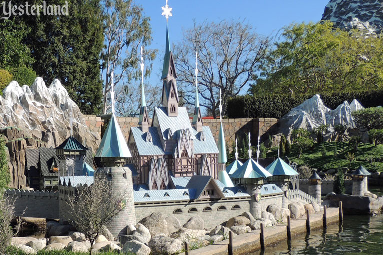 Arendelle Castle at Storybook Land, Disneyland