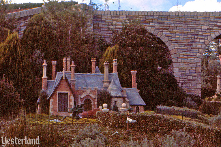 Toad Hall in its original location at Storybook Land