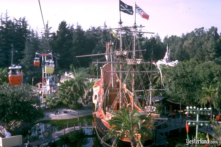 Pirate Ship at Disneyland in 1974