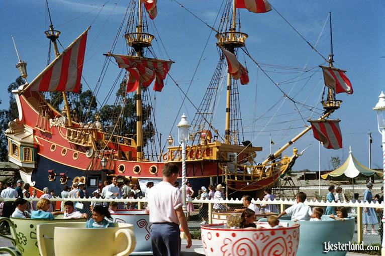Pirate Ship at Disneyland
