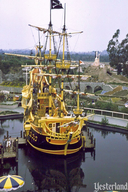 Chicken of the Sea Pirate Ship and Restaurant at Disneyland