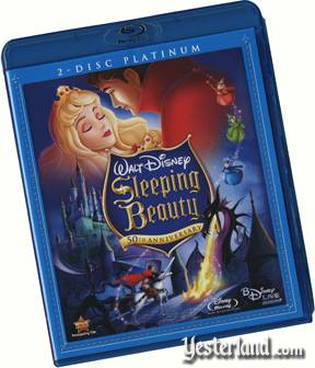 Sleeping Beauty Blu-Ray disc cover
