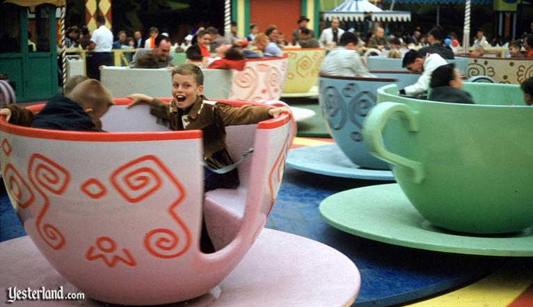Photo of Mad Tea Party with enthusiatic boy