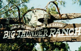 Photo of the Big Thunder Ranch sign