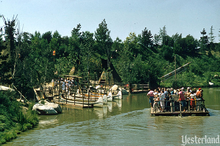 Indian War Canoes, Disneyland