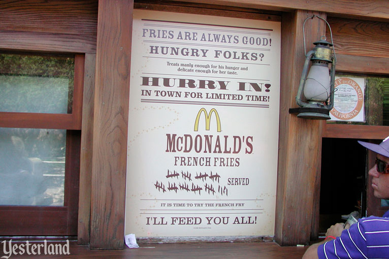 Conestoga Fries, hosted by McDonald's, at Disneyland