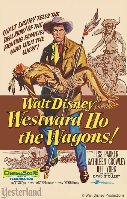 Walt Disney's Westward Ho the Wagons