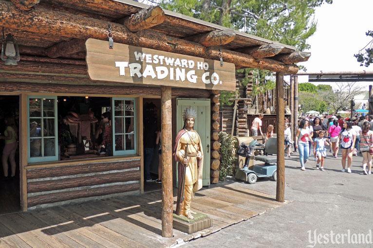 Westward Ho Trading Co. at Disneyland