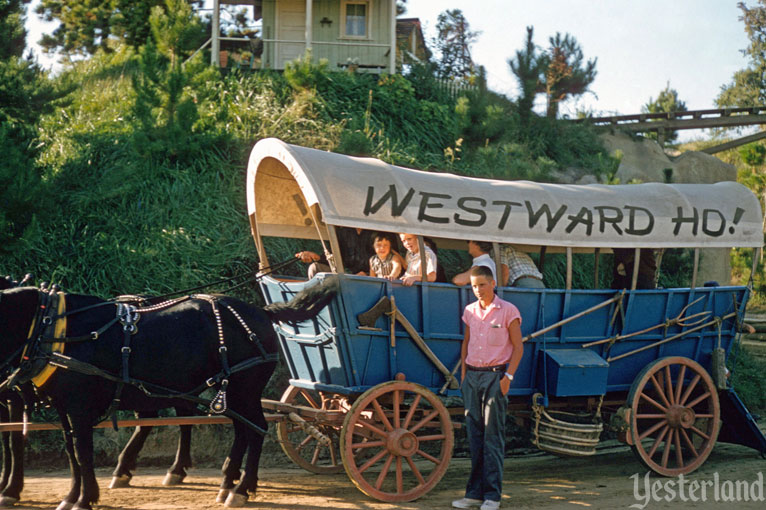 Conestoga Wagons at Disneyland