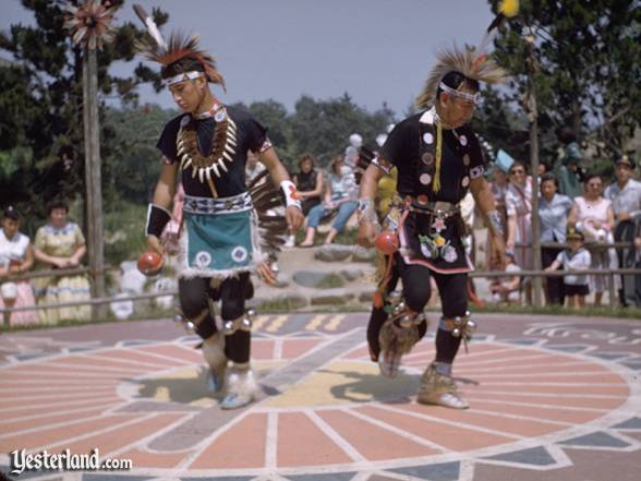 Photo of the Ceremonial Dance Circle