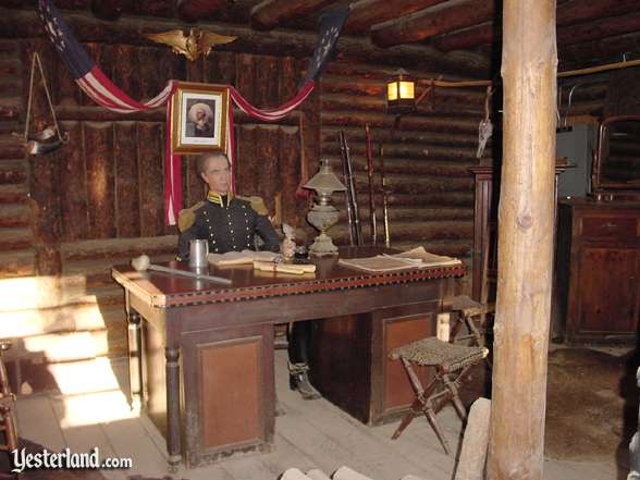 Photo of Fort Wilderness Regimental Headquarters interior