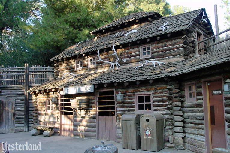 Fort Wilderness on Tom Swayer Island at Disneyland