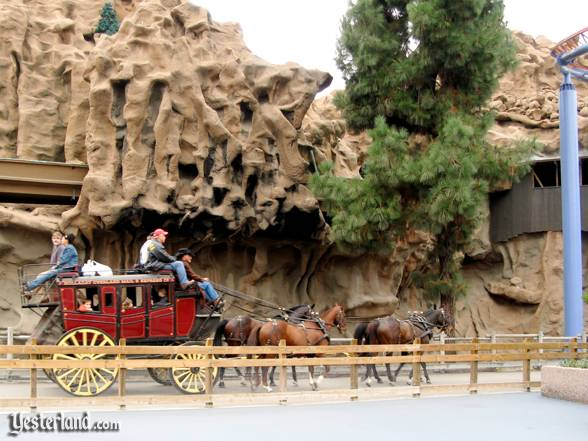 Butterfield Stagecoach at Knott's Berry Farm