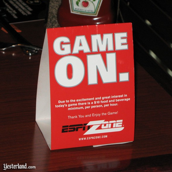 ESPN Zone, Chicago