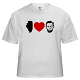 IL Loves Lincoln T-shirt