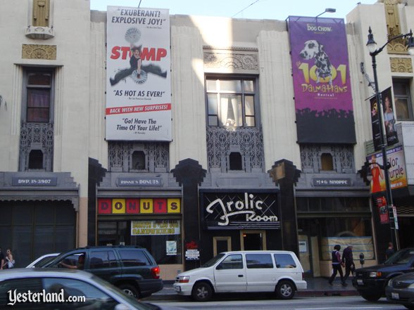 Pantages Theatre, 6233 Hollywood Blvd., Hollywood