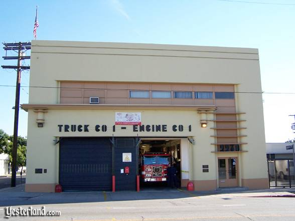 Fire Station No. 1 in Lincoln Heights