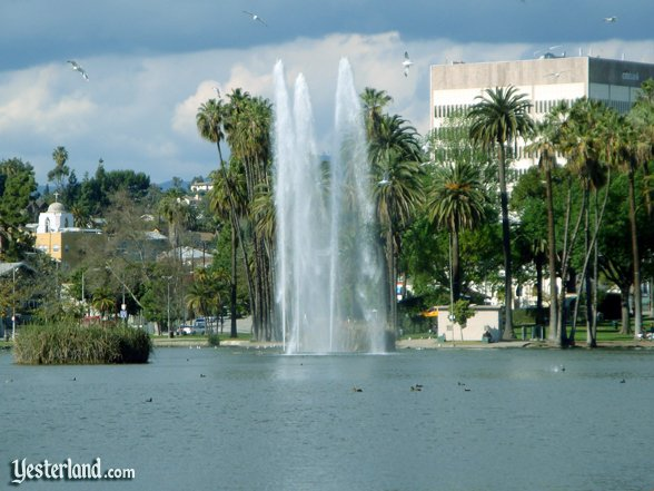 Inspiration: Echo Park Lake in Los Angeles