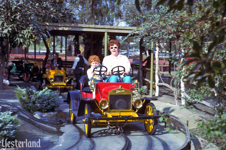 Antique Auto Ride at Knott's Berry Farm