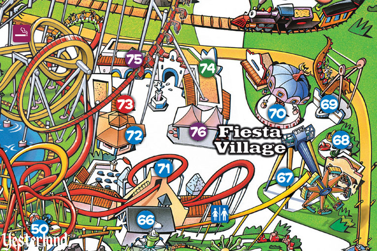 Fiesta Village at Knott's Berry Farm