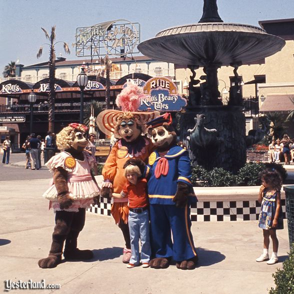 Knott's Bear-y Tales, courtesy of the Orange County Archives, Knott's Berry Farm Collection