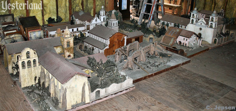 Restoring the mission models at Knott's Berry Farm