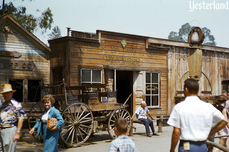 vintage photo of Ghost Town at Knott's Berry Farm