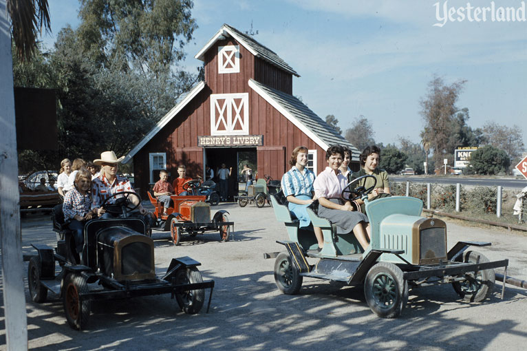 Henry's Livery Ride at Knott's Berry Farm
