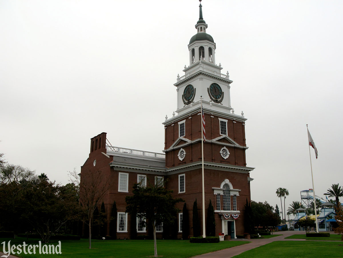 Independence Hall at Knott's Berry Farm