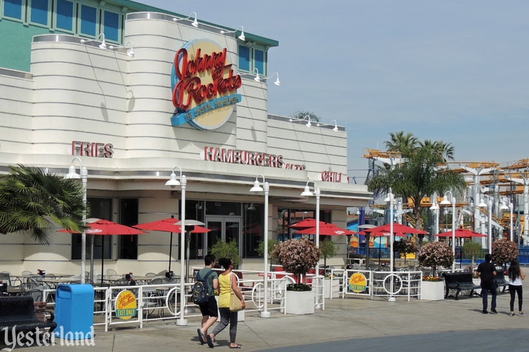 Johnny Rockets at the site of the Buffalo Nickle Penny Arcade, Knott's Berry Farm