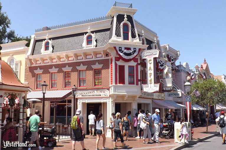 New Carnation Cafe at Disneyland