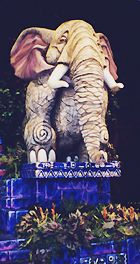 Photo of Elephant Float at Disney's Animal Kingdom