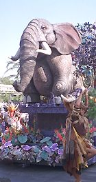 Photo of Elephant Float at Disneyland