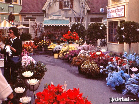 Photo of Main Street Flower Mart, 1961