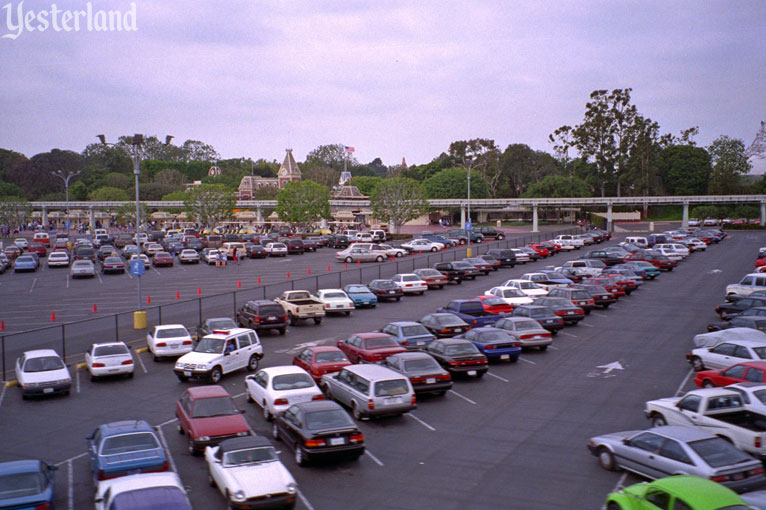 Parking Lot at Disneyland
